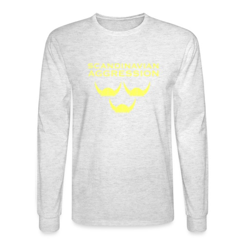 Tre Hjälmar Single-Sided T-Shirt - Men's Long Sleeve T-Shirt