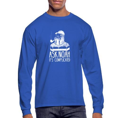 Ask Noah It's Complicated - Men's Long Sleeve T-Shirt
