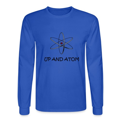 Up and Atom - Men's Long Sleeve T-Shirt