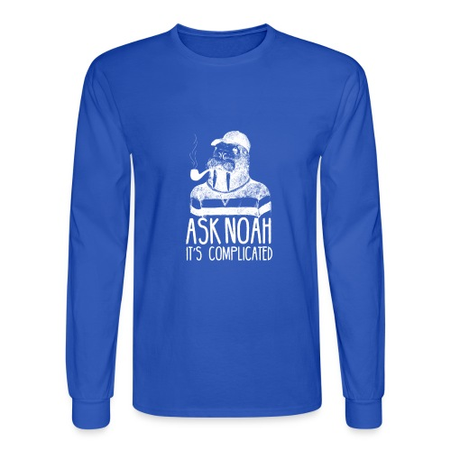 Ask Noah It's Complicated - Men's Long Sleeve T-Shirt