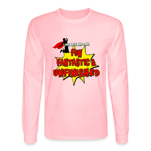 Fun Fantastic and UNFINISHED - Back to School - Men's Long Sleeve T-Shirt