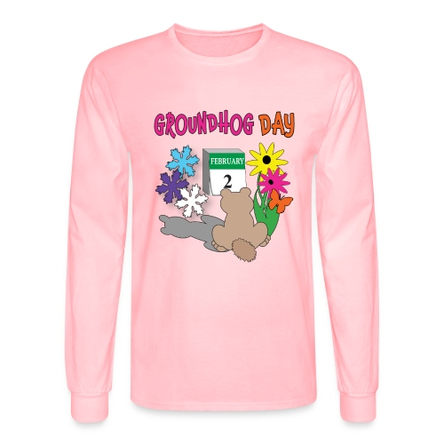 Groundhog Day Dilemma - Men's Long Sleeve T-Shirt