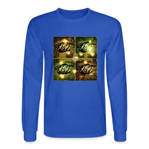 KFree Signature cosmic art - Men's Long Sleeve T-Shirt