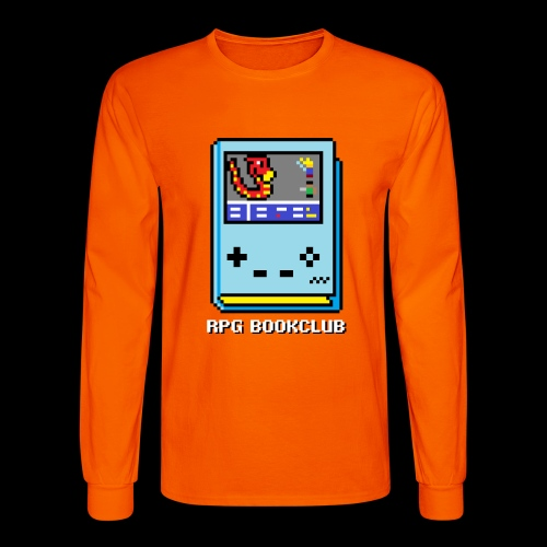 RPG Bookclub Logo - Men's Long Sleeve T-Shirt