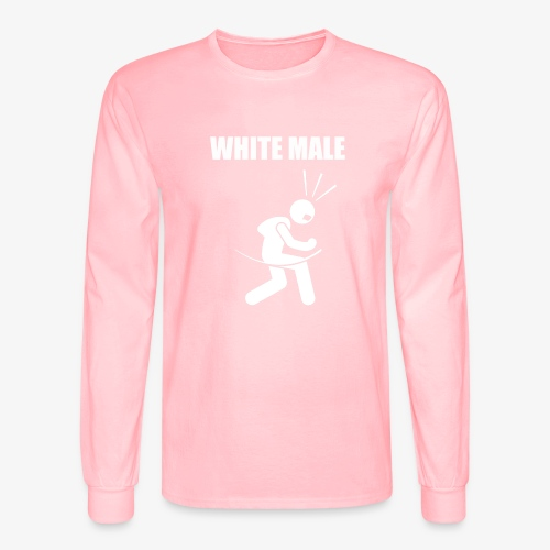 White Male Yes - Men's Long Sleeve T-Shirt