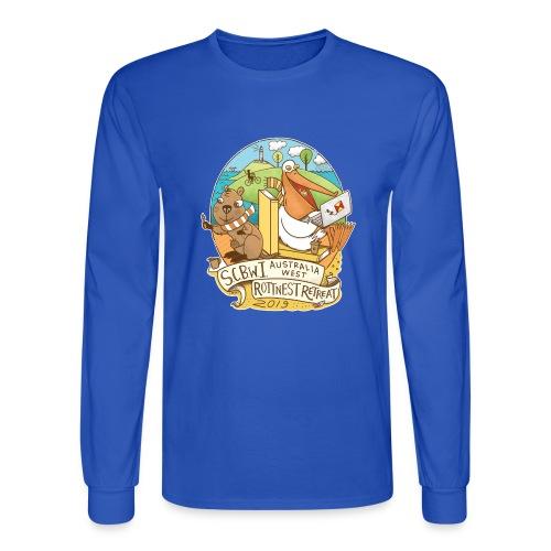 SCBWI Australia West 2019 Rottnest Retreat - Men's Long Sleeve T-Shirt