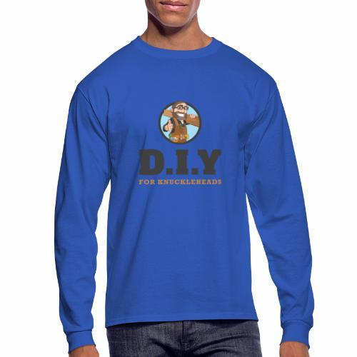 DIY For Knuckleheads Logo - Men's Long Sleeve T-Shirt