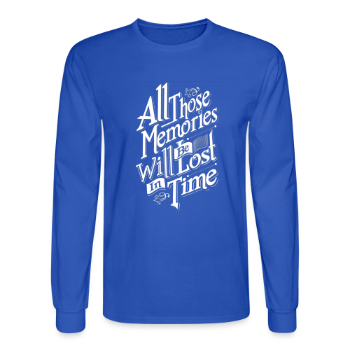 Memories - Men's Long Sleeve T-Shirt
