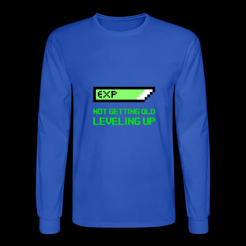 Not Getting Old - Leveling Up - Men's Long Sleeve T-Shirt