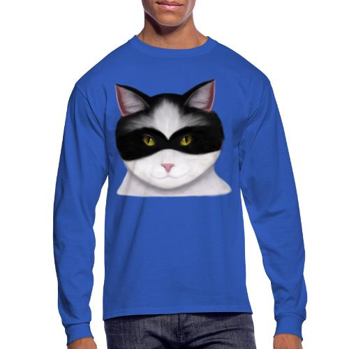 I am called the Masked Cat - Men's Long Sleeve T-Shirt