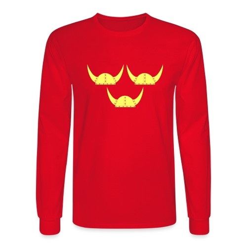Tre Hjälmar Double-Sided T-Shirt - Men's Long Sleeve T-Shirt