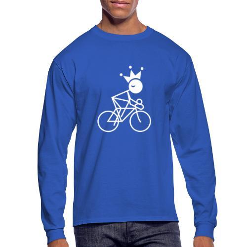 Winky Cycling King - Men's Long Sleeve T-Shirt