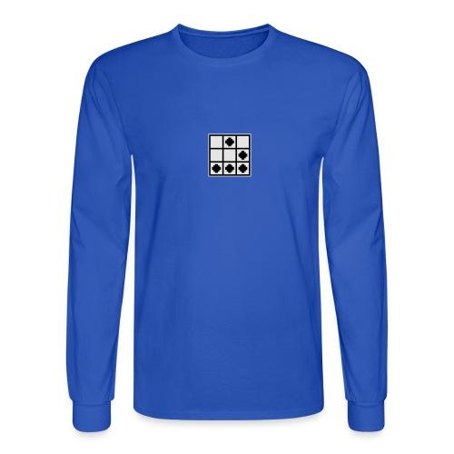 Hacker Emblem - Men's Long Sleeve T-Shirt