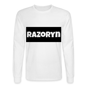 Razoryn Plain Shirt - Men's Long Sleeve T-Shirt