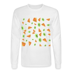 The PizzaCados - Men's Long Sleeve T-Shirt