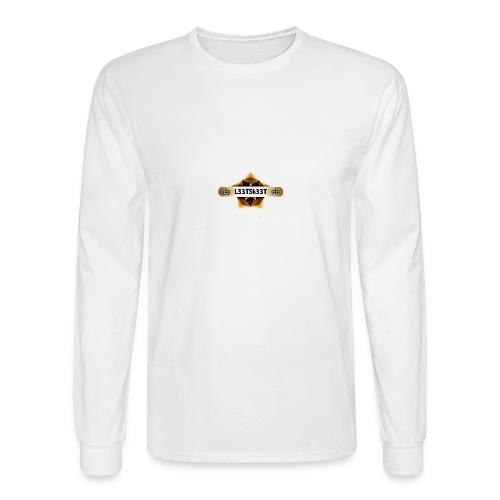 L33TSk33T Gold - Men's Long Sleeve T-Shirt