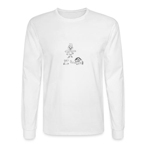 ANGEL OF DESTRUCTION - Men's Long Sleeve T-Shirt