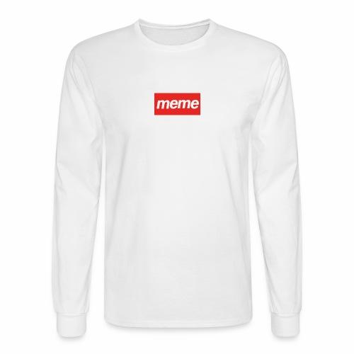 Meme - Men's Long Sleeve T-Shirt