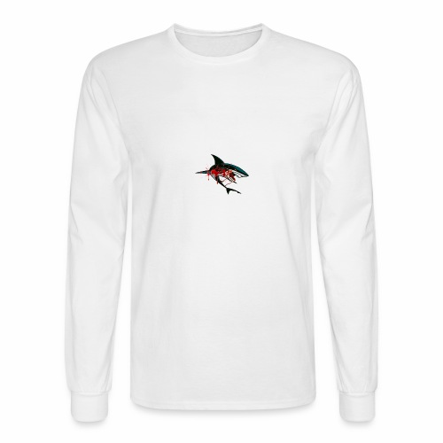 Limited Edition Bloody Shark Merch - Men's Long Sleeve T-Shirt