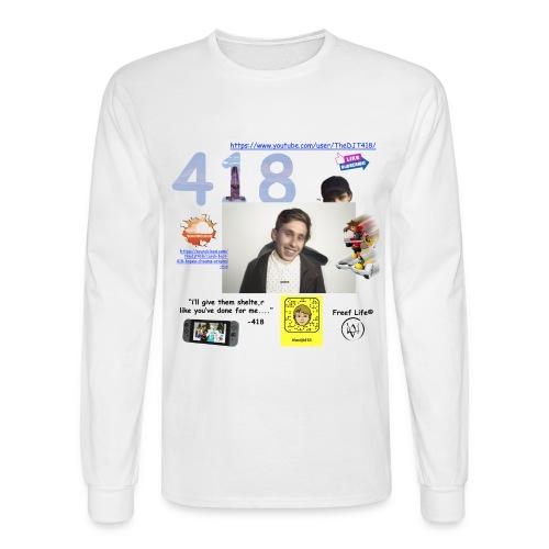 418 - Men's Long Sleeve T-Shirt