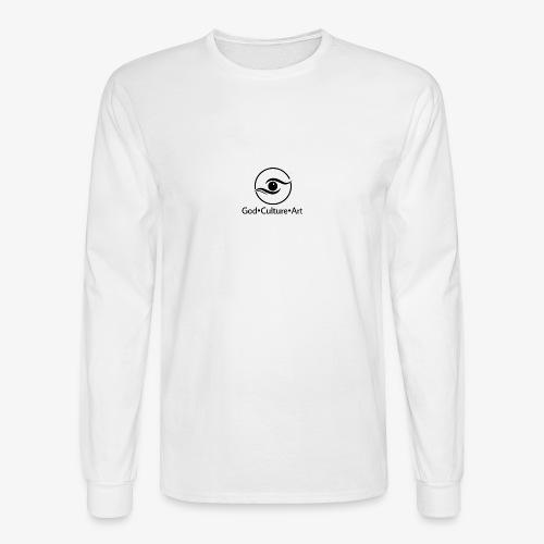 God, Culture, Art - Men's Long Sleeve T-Shirt