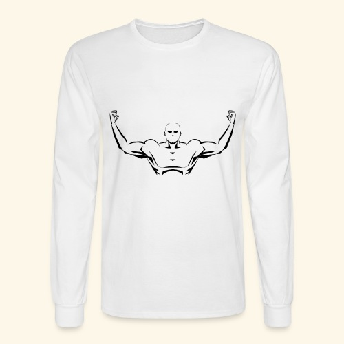 Flex Your Pecs - Men's Long Sleeve T-Shirt