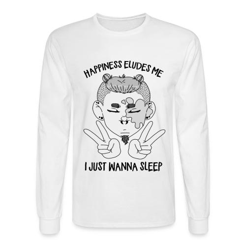 Happiness? - Men's Long Sleeve T-Shirt