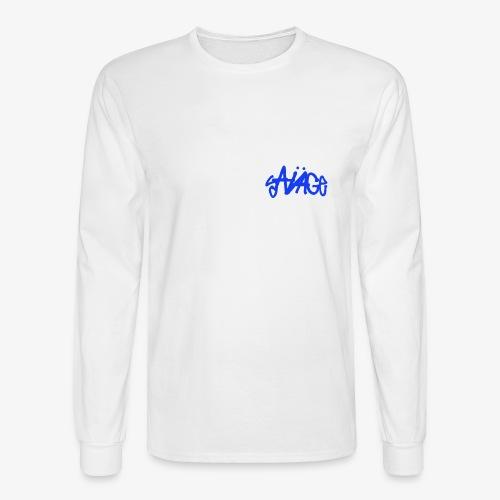 Savage Blue - Men's Long Sleeve T-Shirt