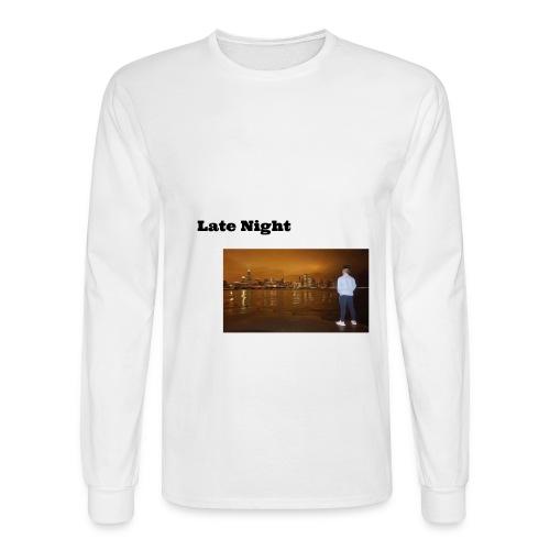 Late Night - Men's Long Sleeve T-Shirt