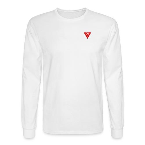 Viibe Epilogue Logo in Red - Men's Long Sleeve T-Shirt