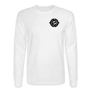 Logo Black Heart - Men's Long Sleeve T-Shirt
