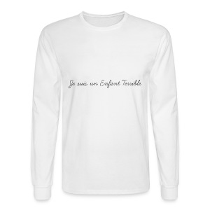 Je suis un Enfant Terrible child - Men's Long Sleeve T-Shirt