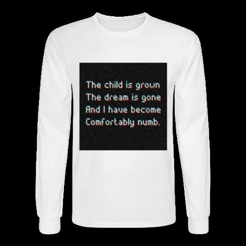 ELIAAZZ - comforably numb - Men's Long Sleeve T-Shirt