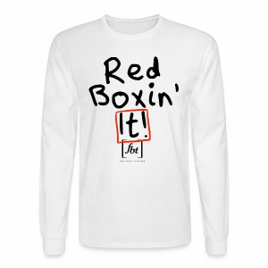 Red Boxin' It! [fbt] - Men's Long Sleeve T-Shirt