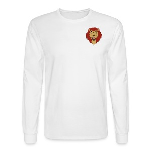 Lion FX Heart - Men's Long Sleeve T-Shirt