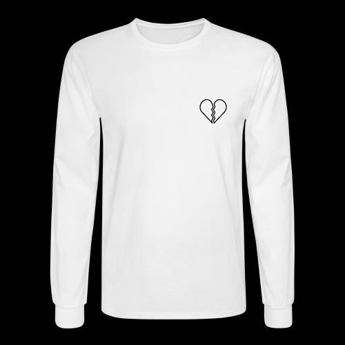 heartbroken - Men's Long Sleeve T-Shirt