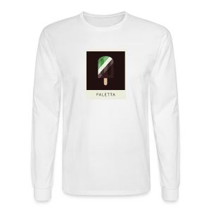 Mint Chocolate Polaroid - Men's Long Sleeve T-Shirt