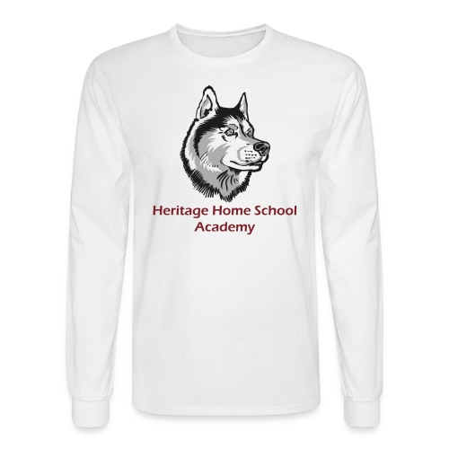 Mascot Logo - Men's Long Sleeve T-Shirt