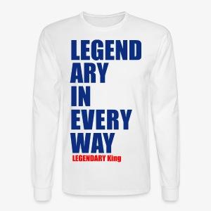 Legendary King - Men's Long Sleeve T-Shirt