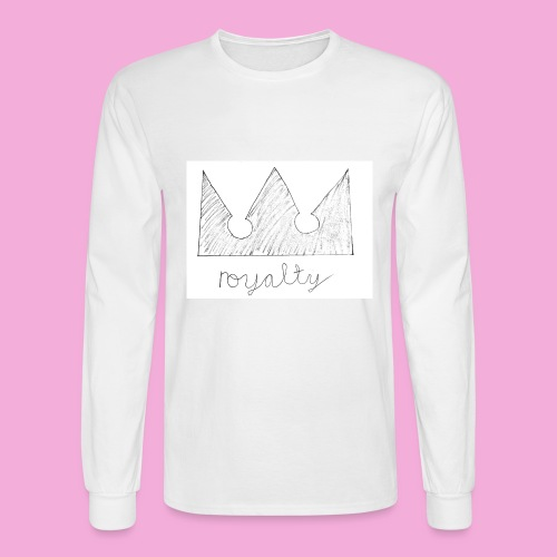 royalty crown - Men's Long Sleeve T-Shirt