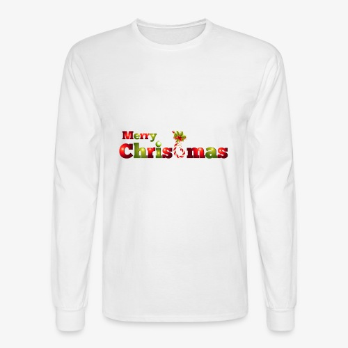 merry christmas - Men's Long Sleeve T-Shirt