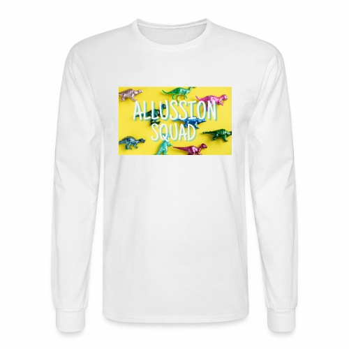 Dino Alussion Squad LIMITED - Men's Long Sleeve T-Shirt