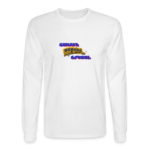 SummerSchoolLOGO - Men's Long Sleeve T-Shirt