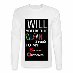 CHANDLER PROPOSES - Men's Long Sleeve T-Shirt