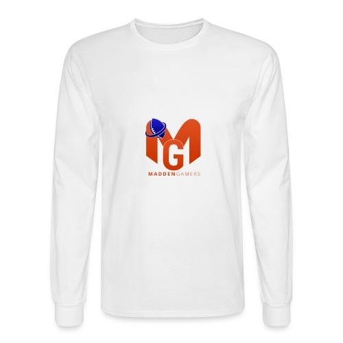 MaddenGamers MG Logo - Men's Long Sleeve T-Shirt