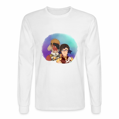 Au Ra couple - Men's Long Sleeve T-Shirt