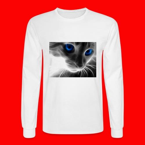 sly cat - Men's Long Sleeve T-Shirt