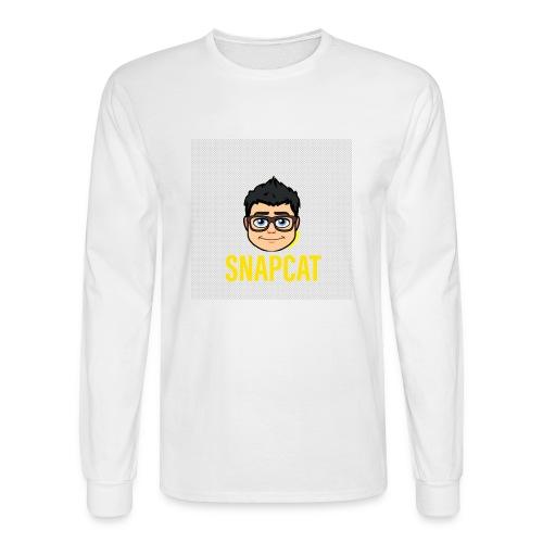 Snapcat - Men's Long Sleeve T-Shirt