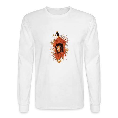 Broken Liquor Bottle - Men's Long Sleeve T-Shirt
