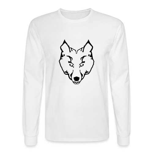 Woolf Image - Men's Long Sleeve T-Shirt